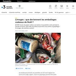 Limoges : que deviennent les emballages cadeaux de Noël ?