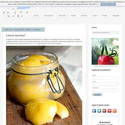 Limoni marinati