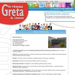 Le réseau Greta du Limousin - réseau de formation - Greta Corrèze sud