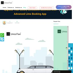 Upgrade Your Luxury Limousine Business With Advanced Limo Booking App