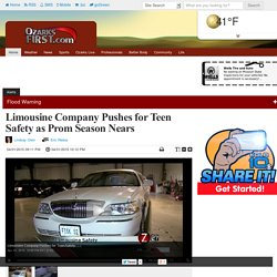 Limousine Company Pushes for Teen Safety as Prom Season Nears