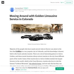 Moving Around with Golden Limousine Service in Colorado
