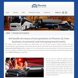 limousine-service-phoenix - Phoenix Limo Service
