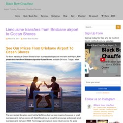 Limousine transfers from Brisbane airport to Ocean Shores