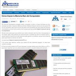 Como limpiar la Memoria Ram del Computador