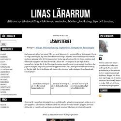 Linas lärarrum - Läsmysteriet