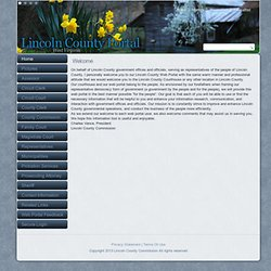 Lincoln County West Virginia Web Portal > Home
