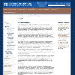 Lincoln Laboratory: History: SAGE Radars