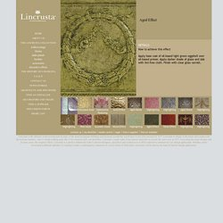 Lincrusta - Collection