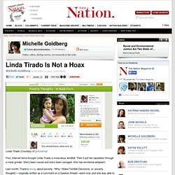 Linda Tirado Is Not a Hoax