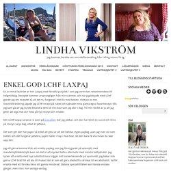 LINDHA VIKSTRÖM - Enkel god LCHF Laxpaj
