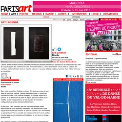 Paris 3e. Galerie Almine Rech