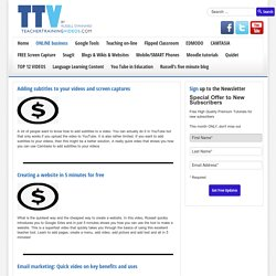 On line business tips and tutorials