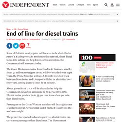 End of line for diesel trains
