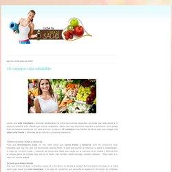 LíNea de Salud: 10 consejos vida saludable