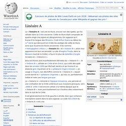 Linéaire A