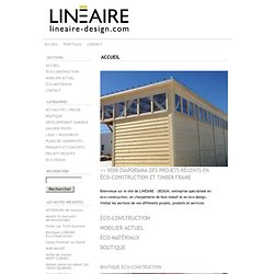 LINEAIRE-DESIGN.COM: ACCUEIL