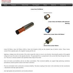Linear Voice Coil Motors - Actuators and micro voice coil actuators