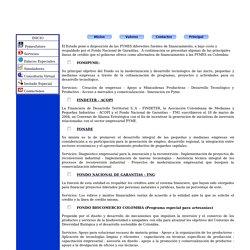 LINEAS DE CREDITO PARA MIPYMES