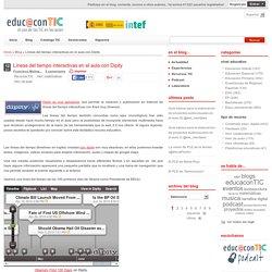 Líneas del tiempo interactivas en el aula con Dipity