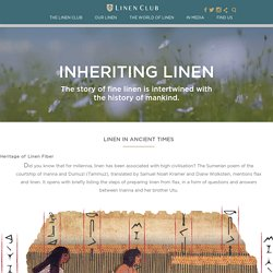What Is Linen Fabric