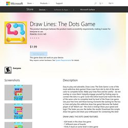 Draw Lines: The Dots Game – Games on Microsoft Store