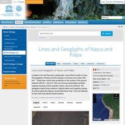 Lines and Geoglyphs of Nasca and Pampas de Jumana