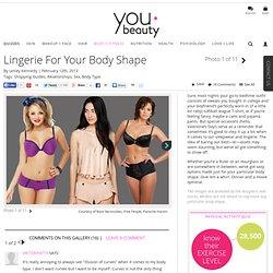 Lingerie by Body Shape