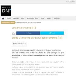 Lingerie féminine [FR] - DN-MAG.COM