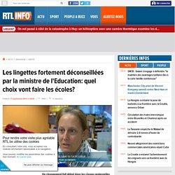 Les lingettes fortement déconseillées par la ministre de l'Education: quel choix vont faire les écoles?