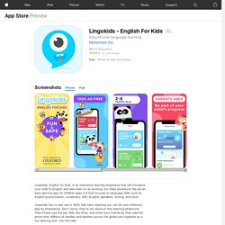 ‎Lingokids - English For Kids on the App Store