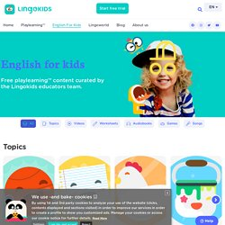 English For Kids - Lingokids - The Playlearning™ App in English