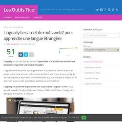 Lingua.ly Le carnet de mots web2 pour apprendre une langue étrangère