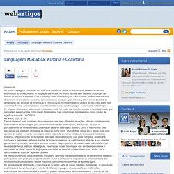 Linguagem Midiática: Autoria e Coautoria