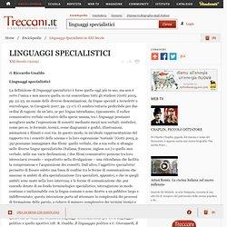 """Linguaggi Specialistici in """"XXI Secolo"""""""