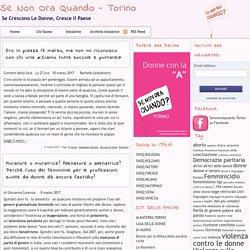 linguaggio sessista » Se Non Ora Quando – Torino