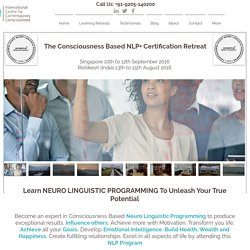 NLP Coaching - Best Neuro Linguistic Programming Workshop India