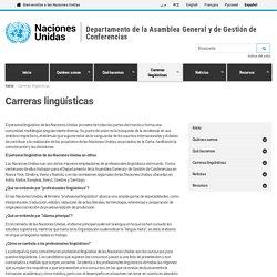 Departamento de la Asamblea General y de Gestión de Conferencias