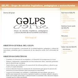 Grupo de estudios lingüísticos, pedagógicos y socioculturales