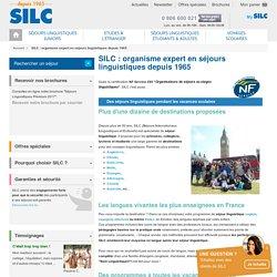 Séjour linguistique à l'étranger : la qualité SILC certifiée NF