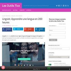 Lingvist. Apprendre une langue en 200 heures – Les Outils Tice