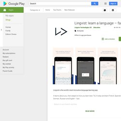 Lingvist: learn a language – fast - Apps on Google Play