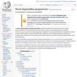 Neuro-lingvisztikus programozás