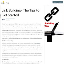 Link Building - The Tips to Get Started