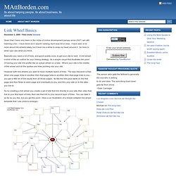 Link Wheel Basics : MAttBorden.com