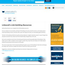 s Link Building Resources - Linkarati