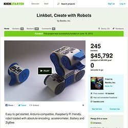Linkbot, Create with Robots by Barobo, Inc.
