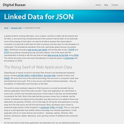 Linked Data for JSON « Digital Bazaar