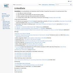 LinkedData - ESW Wiki