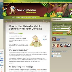 How to Use LinkedIn Mail to Connect With Your Contacts